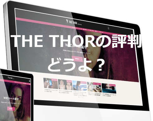 THE THORの評判